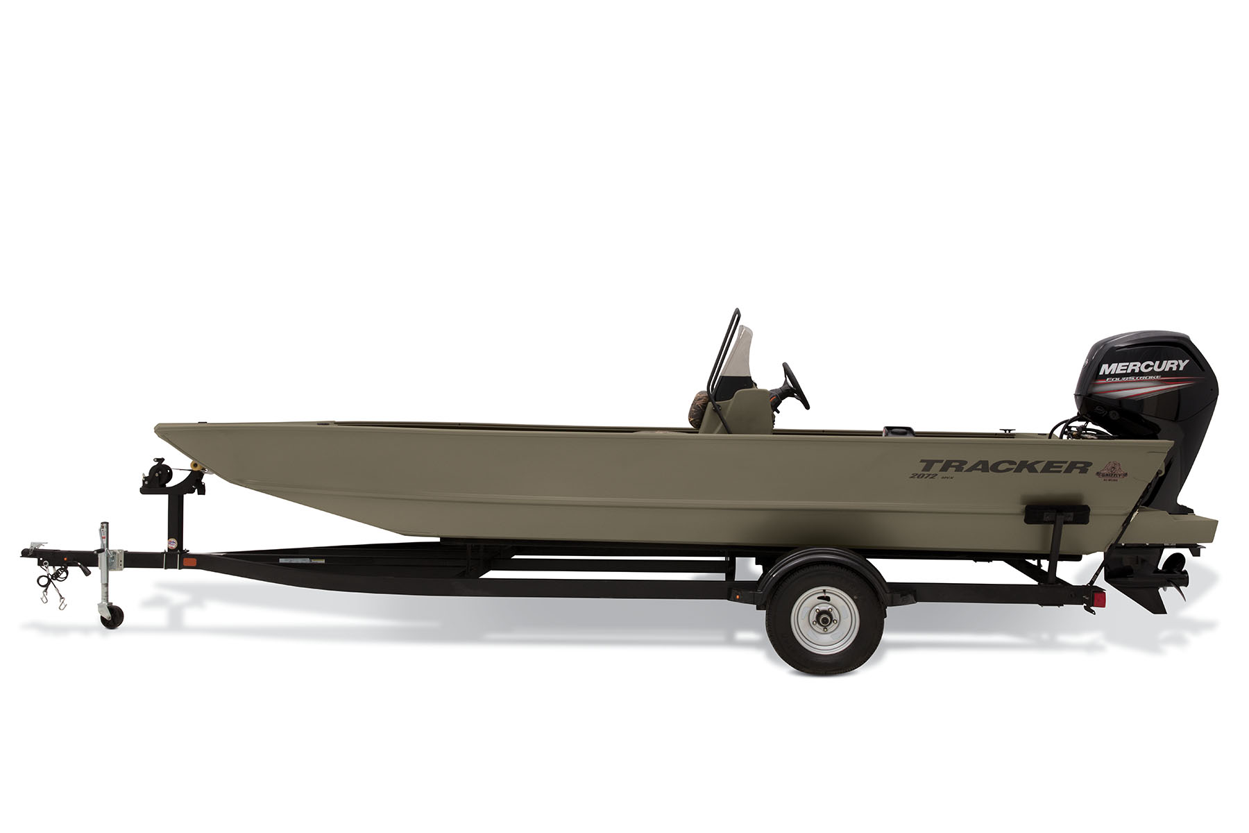 2019 Grizzly 2072 Cc Tracker Hunt And Fish Jon Boat