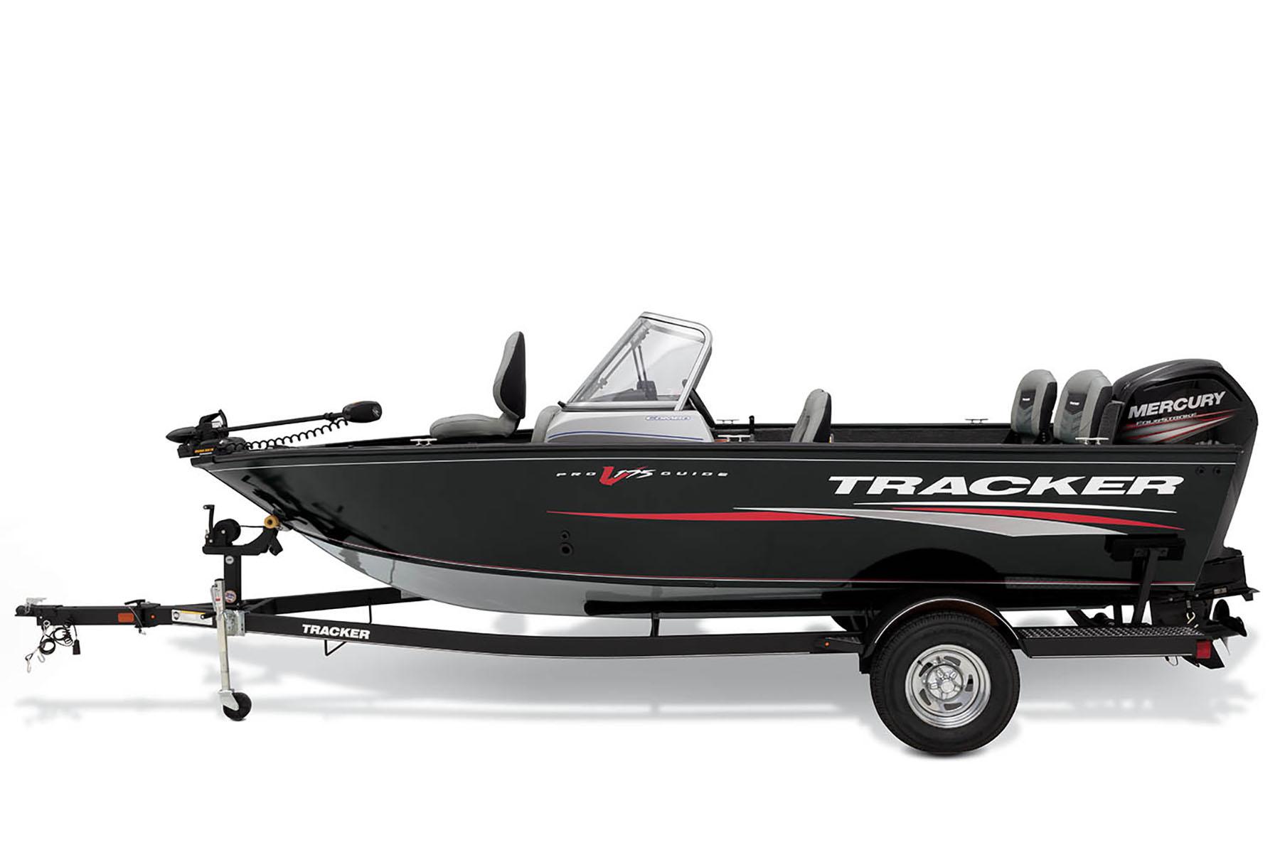 2019 Pro Guide V 175 Combo Tracker Deep V Multi Species Boat
